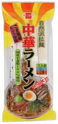 健康フーズの中華ラーメン 3人前 (麺・スープ・香味油付き)×2個         JAN: 4973044020340
