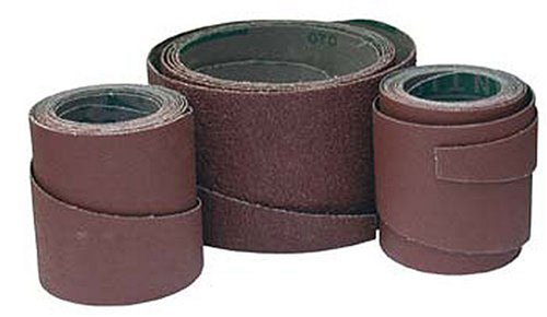 Jet Tools - Ready-To-Wrap Abrasives, 220 Grit, 4-Wraps in Box (60-1220)
