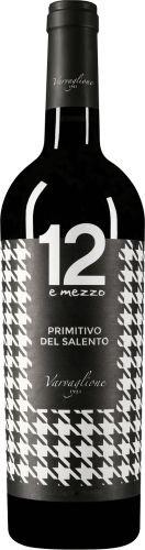 """Primitivo del Salento IGP """"12 e Mezzo"""" - Varvaglione, Cl 75"""