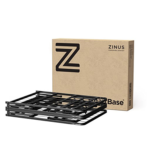Zinus Shawn 14 Inch SmartBase Mattress Foundation / Platform Bed Frame / Box Spring Replacement / Quiet Noise-Free / Maximum Under-bed Storage, King