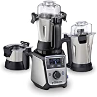 Hamilton Beach Professional Juicer Mixer Grinder, 1400 Watt, Triple Overload Protection, 3 Stainless Steel Leakproof...