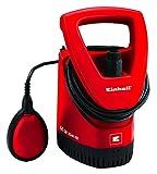 Einhell Regenfasspumpe GE-SP 3546 RB (350 W, max. Fremdkörpergröße 2,5 mm, max. Fördermenge 4.600 L/h, max. Förderhöhe 11 m, stufenloser Schwimmschalter, Kunststoff-Pumpengehäuse)