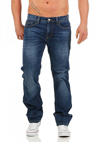 Big Seven Dan Atlanta Wash Regular Fit Herren Jeans, Hosengröße:W46/L32