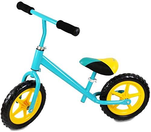 Balance Bike, kein Pedal-Kleinkind-Bike Walking Training Bike mit verstellbarem Sitz Leichte Nicht aufblasbare Gummireifen for Alter von 2 bis 6 Jahre alt Jungs und Mädchen Indoor Outdoor Birthd lalay
