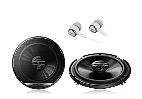 Pioneer TS-A1675R Oval 3-Way 300W Car Speaker - Car Speakers (3-Way, 300 W, 50 W, 4 Ohm, 90 dB, 35-31000 Hz)