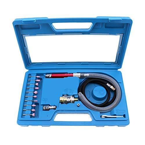 ZLININ 16pcs Hochgeschwindigkeitsluft Die Grinder Kits Bleistift Polier Gravieren Werkzeugschleifen Schneiden Druckluftwerkzeuge