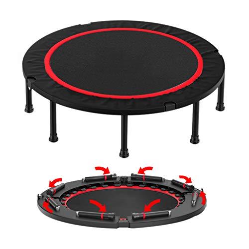 Trampoline opvouwbare fitness voor binnen, houdt 150 kg elasticiteit, fitness- en conditietraining, met antislip veiligheidshoes, gemakkelijk op te bergen en te dragen.