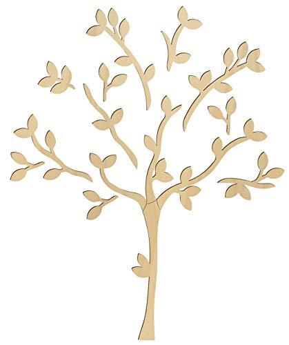 Motif mural en bois « Arbre »