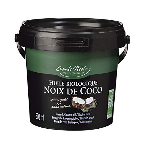Emile Noel - Huile de coco désodorisée 50cl - Lot De Lot De 3 - Vendu Par Lot - Livraison Gratuite En France