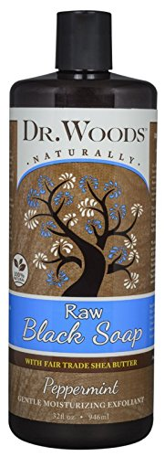 Dr. Woods Naturals Black Soap - Shea Vision - Peppermint - 32 oz by Dr. Woods