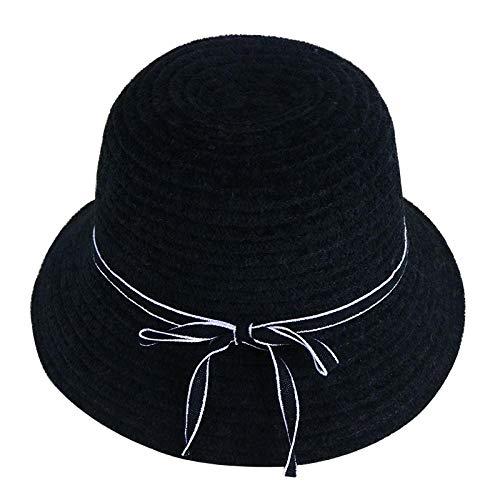 UNBRACE Sun HatsSolid kleur vouwbare pincet langs de engel vouwen dame emmer caps