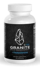 IMPORTANT: Please make sure you're buying original Granite Products from NUTRA CITY, there are some sellers trying to sell counterparts on this page. FAST ACTING FORMULA FOR MEN OF ALL AGES - Granite X700 contains ingredients like L-Arginine, Sarsapa...