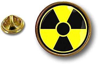 Akacha Spilla Pin pin's Spille spilletta Badge Biohazard Zombie Nuclear Nuclear Scooter
