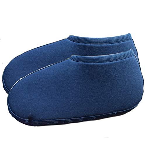 Comfort Concept Herren Gummistiefel-Einziehsocken Regenschuh, Blau, 42/43 EU