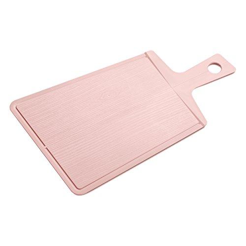 Koziol 3264638 SNAP 2.0 - Tagliere termoplastica, colore: Rosa cipria