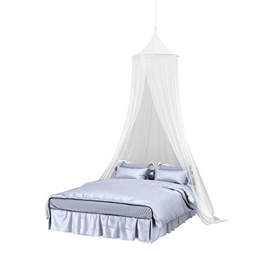Newin Star Moustiquaire pour poussette et lit de voyage Blanche lavable et ind/échirable