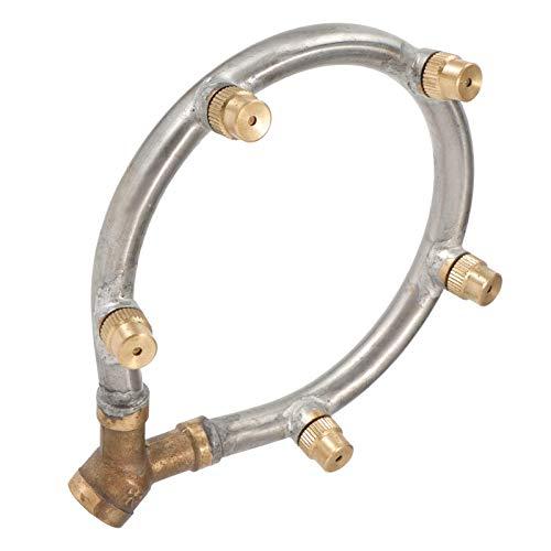 Boquilla de atomización de rosca hembra G1 / 4in boquilla de atomización de rociador de nebulización duradera ajustable para agua de jardín