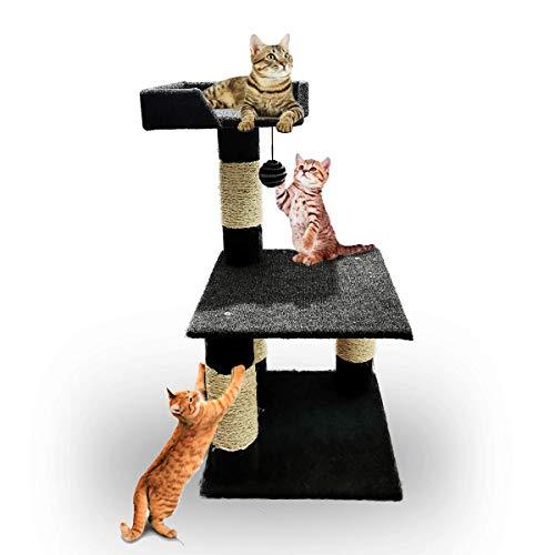 Rascador Para Gato Suelo  marca MascotasyAccesoriosMX