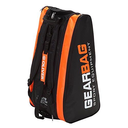 Oliver - Badminton-Schlägerhüllen in schwarz / orange