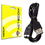 actecom Cable USB de Carga Gameboy Advance SP Charger, GBA SP Cargador Compatible con Nintendo DS NDS