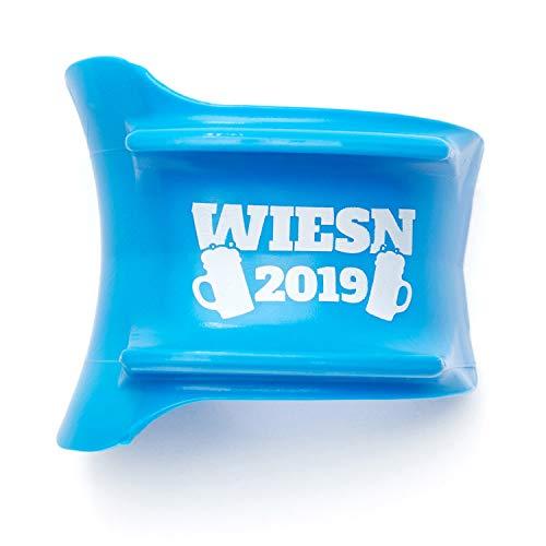 HOBDEE Maßkrug-Adapter Glasmarkierer Wiesn 2019, Blau