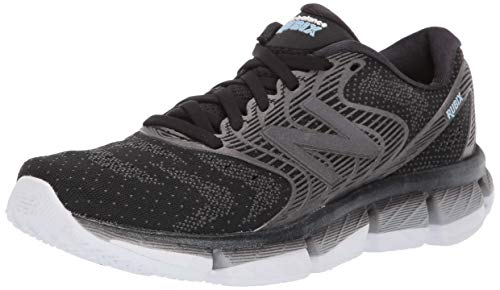 New Balance Women's Rubix V1 Running Shoe, Black/White, 8.5 W US
