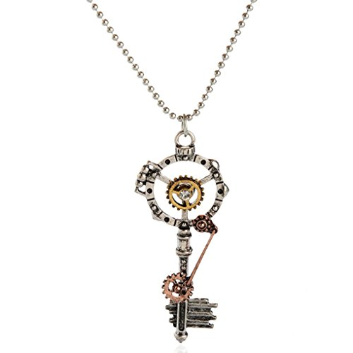 Guangcailun Cadena Steampunk maquinaria del Engranaje Pendiente dominante joyería de Las Mujeres de los Hombres Collar gótico