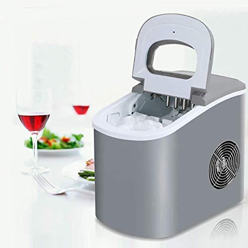 DFJU Eismaschine Maschine Arbeitsplatte, Haushalt Gewerbliche Eiswürfelmaschine Maschine EIS Fast Freeze Ready 10 Min