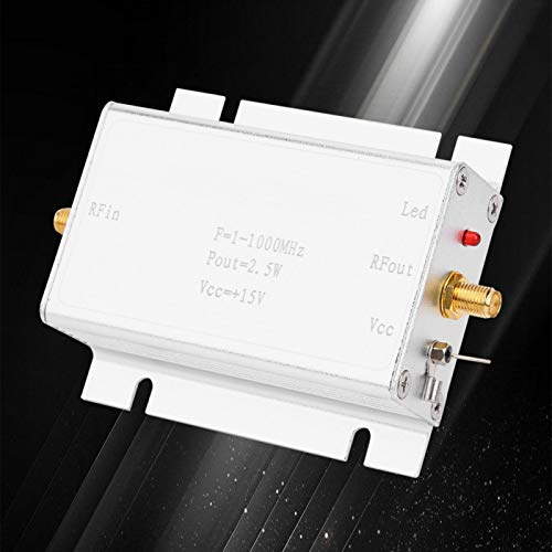 Amplificador de potencia femenino SMA estándar DC15V confiable componente electrónico de 1-1000MHz...