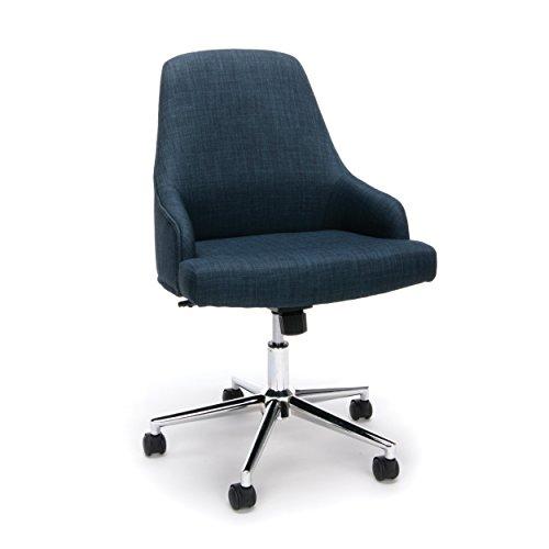 OFM Blue Upholstered Home Desk Chair