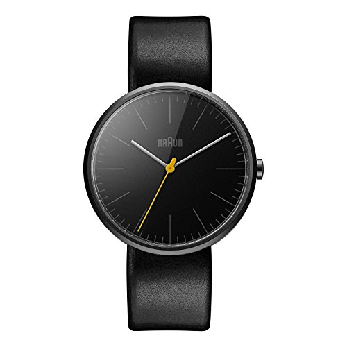 Braun Herren Analog Quarz Armbanduhr BN0172BKBKG