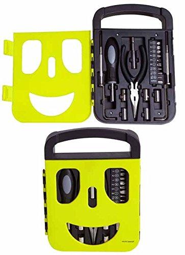 ROYMART gereedschapsset, model Mascara Black & Yellow fietsen volwassenen unisex meerkleurig (geel/zwart), eenheidsmaat