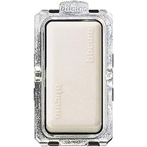 Bticino S5003F Serie Magic Interruptor 1 Orificio, De 6 a, Color Blanco