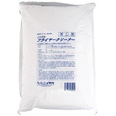 ニイタカ 業務用油汚れ落とし洗浄剤 フライヤークリーナー 4kg×4 フライヤー専用洗浄剤*粉末