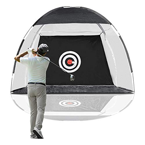 Golf Net Golf Hitting Nets with Target Backyard Driving Range Swing Chipping Golfing Training Aids for Indoor Outdoor Sports