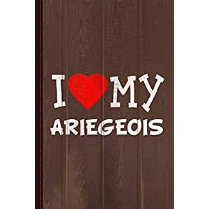 I Love My Ariegeois Dog Breed Journal Notebook: Blank Lined Ruled For Writing 6x9 110 Pages 3