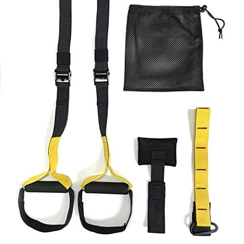 JOWY Entrenamiento Suspension Trainer o Training con Correas Ajustables de Carga hasta 500kg Ideal para Ejercicios y Entrenamientos de Musculación, Fitness o Crosstraining