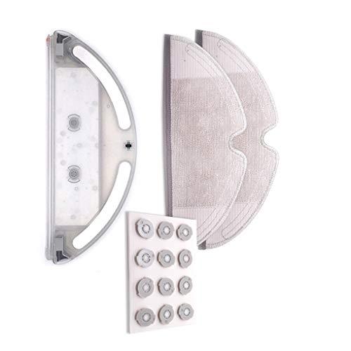 Babysbreath17 Reemplazo para Miaomi Mi Roborock Aspirador de Piezas de Repuesto Polvo Recoge la Caja del Tanque de Agua del Filtro de Tela Mopping 4 4