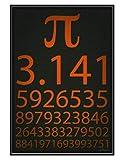ZYHSB Pi 3.141 Mathematik Mathematik Physik Wissen Poster