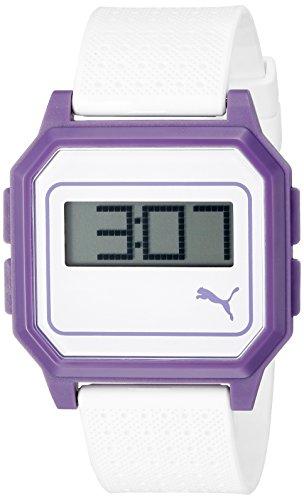 PUMA Men's PU910951007 Flat Screen Digital Watch