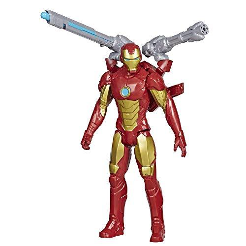 Boneco Marvel Vingadores Titan Hero Series Blast Gear, Figura de 30 cm - Homem de Ferro - E7380 - Hasbro
