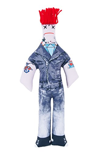 Dammit Doll - Dammit Family - Rebellious Rocker - I'm Almost Famous, Dammit! - Stress Relief, Gag Gift