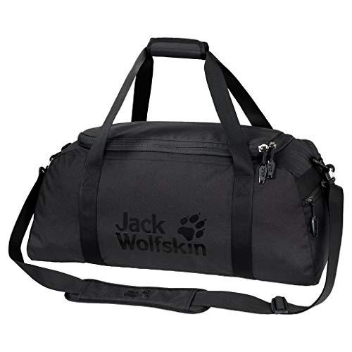 Jack Wolfskin Action Bag 45 Umhängetasche, Black, ONE Size