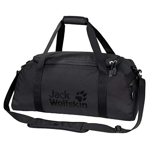 Jack Wolfskin Action Bag 45 Umhängetasche, Black, ONE Size