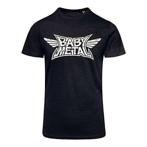 Babymetal Offizielles Logo T Shirt (Schwarz) - Medium