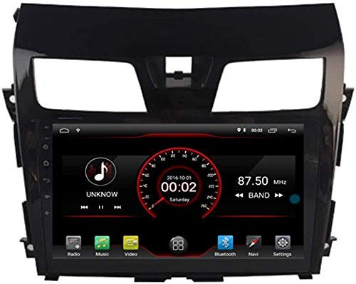 WXHHH Android GPS Navigation Car Stereo Sat Nav para Nissan Altima TEANA 2013-2017 Bluetooth SD USB Radio WiFi DVR 1080P Reproductor de DVD,4g+WiFi:2+32