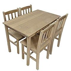 mit 1 Tisch 4 Stühle