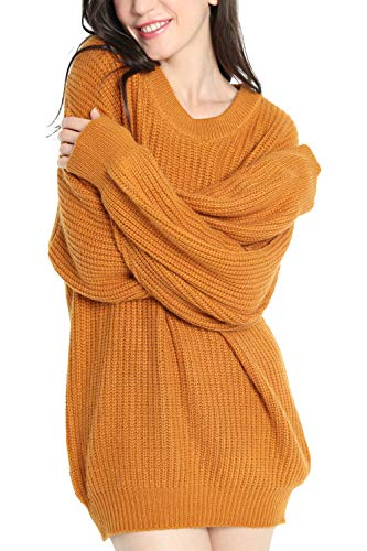 Women's Cashmere Oversized Loose Knit Top