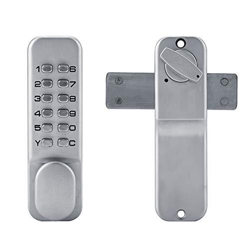 1-11 código digital mecánico teclado cerradura de