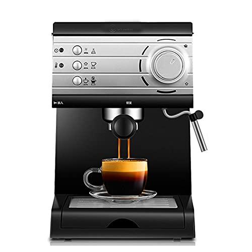Automatyczny ekspres do kawy ziarnistej do filiżanki 1,5 l, Espresso, Domowy półautomatyczny półautomatyczny spieniacz mleka na parze